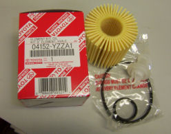 Genuine Toyota Cartridge Oil Filter - 10 Pack
