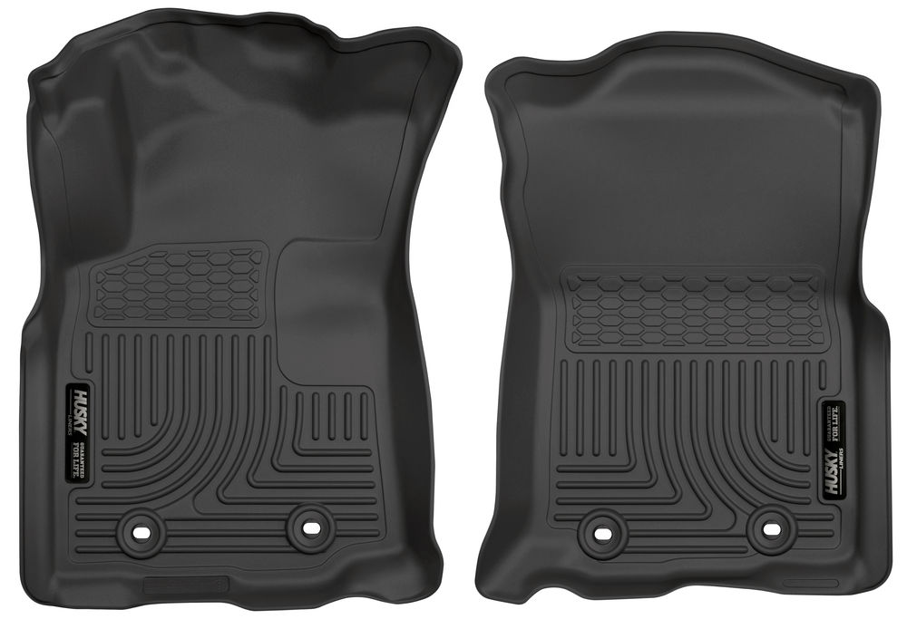 Husky Front Floor Liners 2018 Tacoma Front