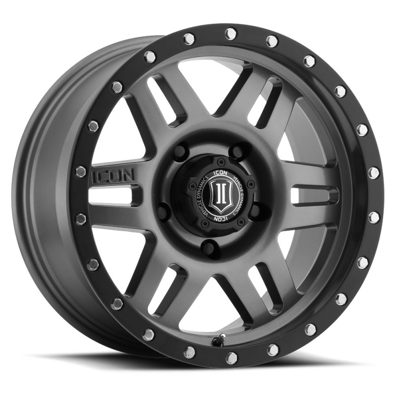 "SIX SPEED 17"" Gunmetal Finish"
