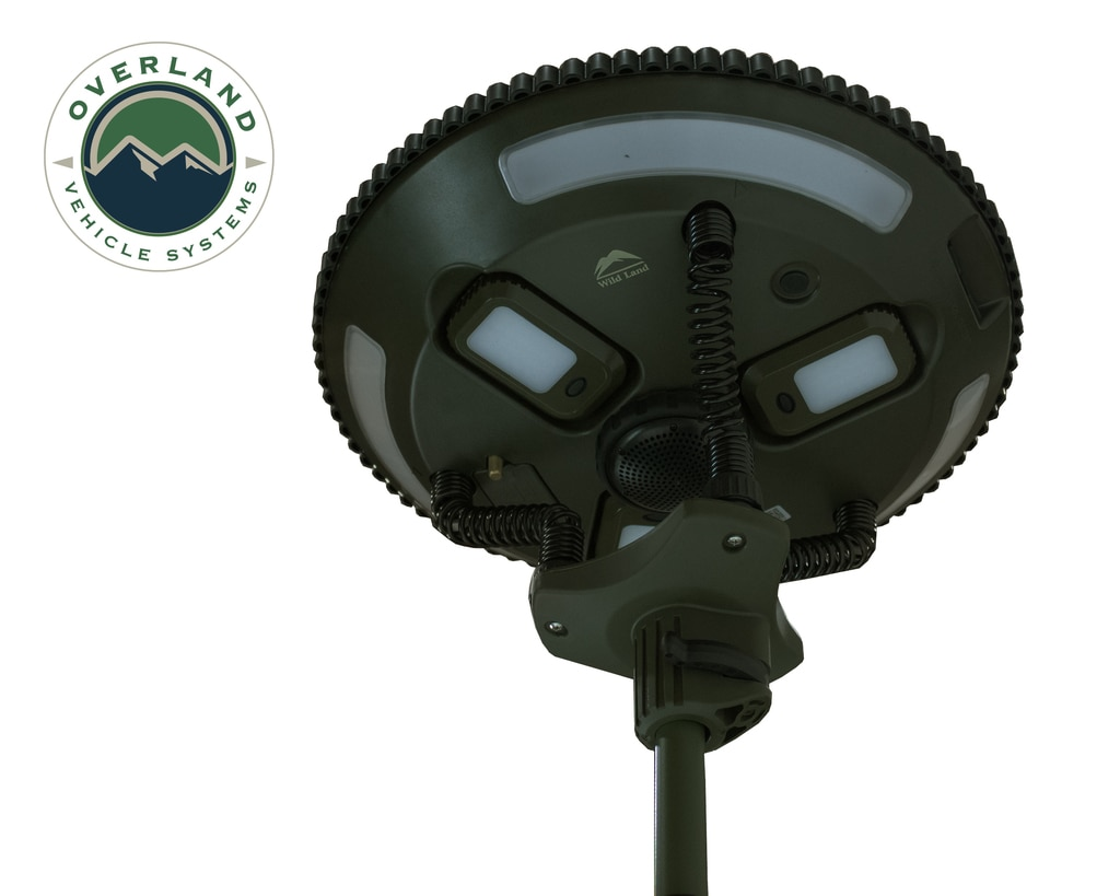 Overland Vehicle Systems Solar Camping Light Pods & Speaker Universal Wild Land