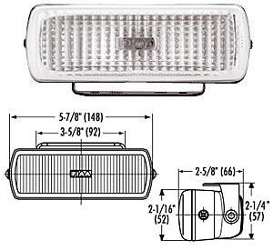 PIAA 1500 Back-Up Lights