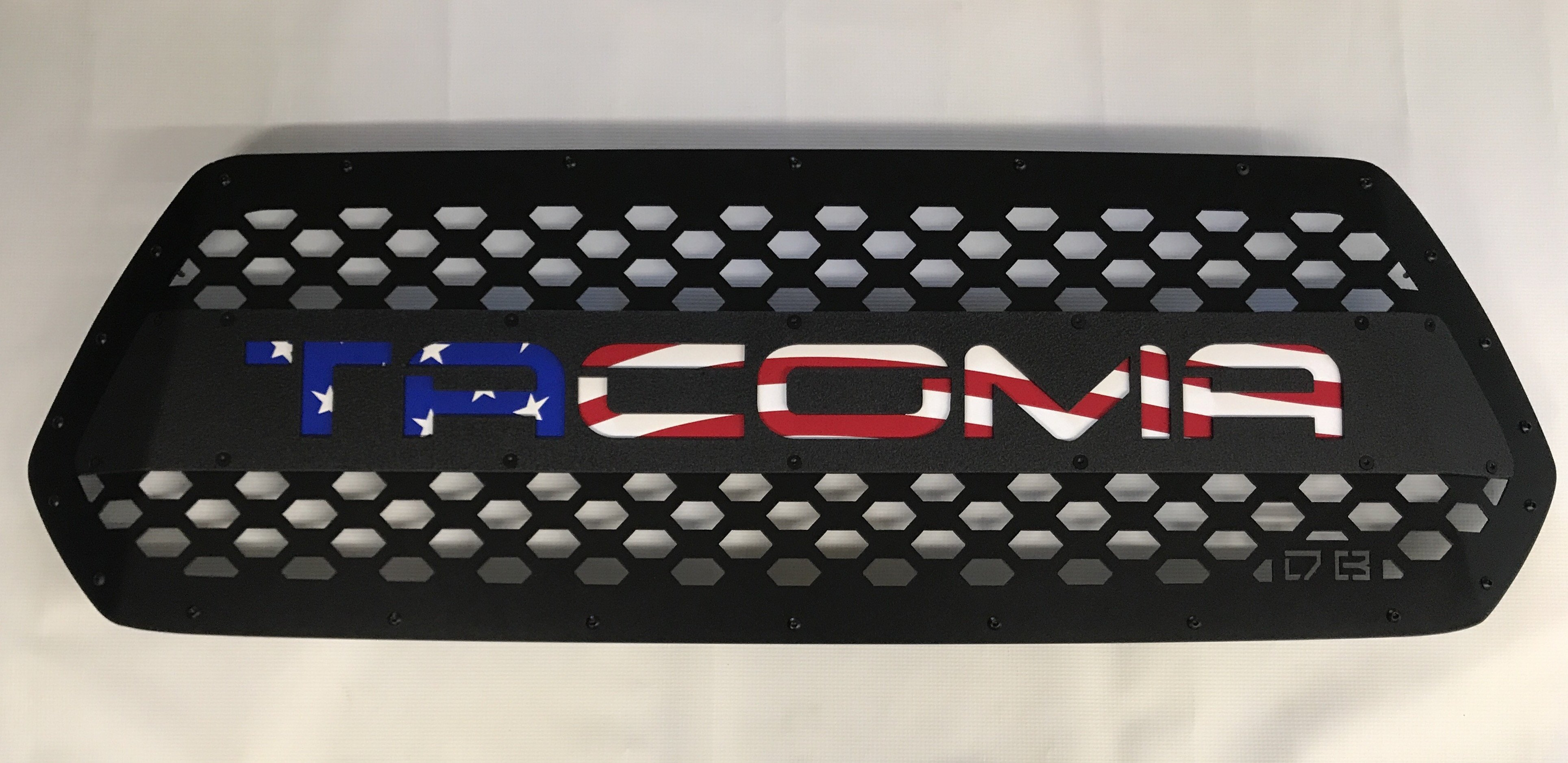 DB Customz Tacoma Drop-In Grille Insert; The Patriot; 2016-2020