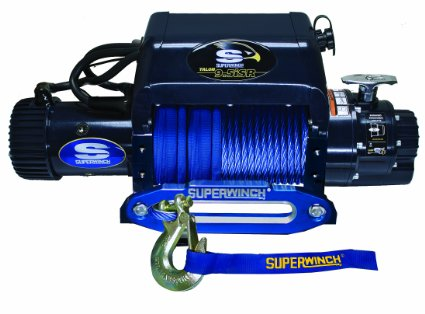 Talon 9.5i SR Winch with Synthetic Rope by Superwinch