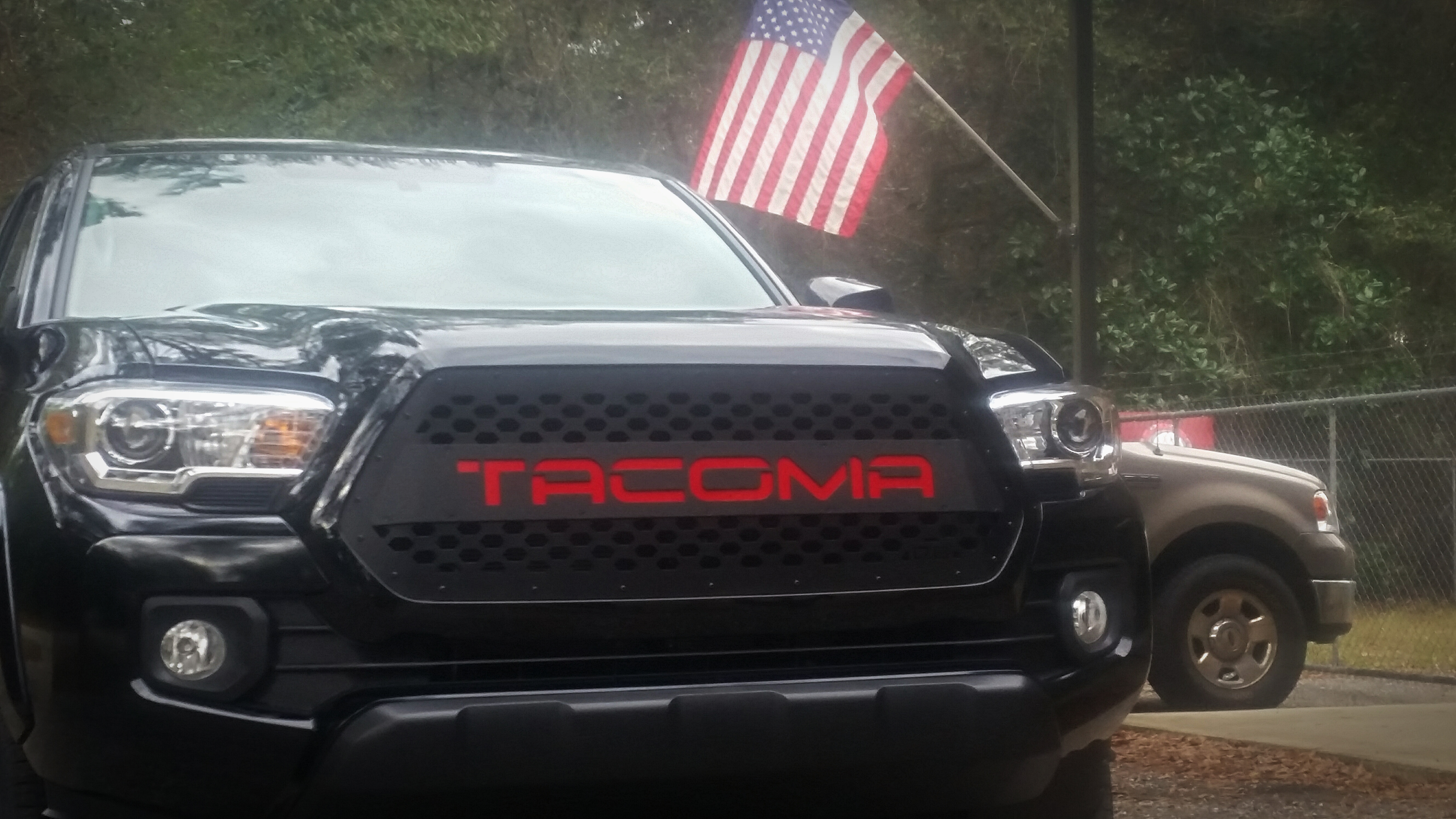 "DB Customz 2016-2018 Tacoma Drop-In Grille Insert ""TRD"" Style"