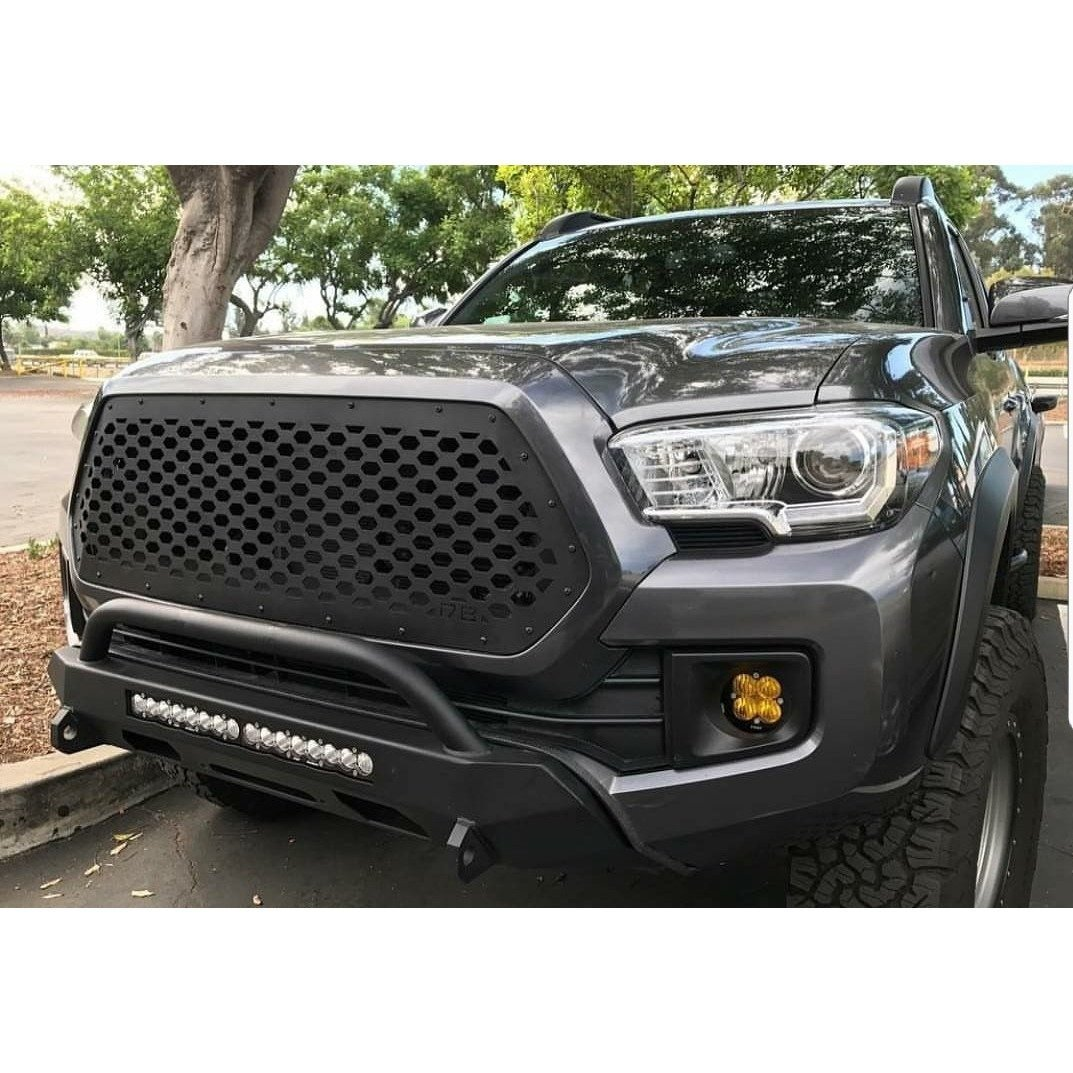 DB Customz Tacoma Drop-In Grille Insert; Honeycomb; 2016-2020