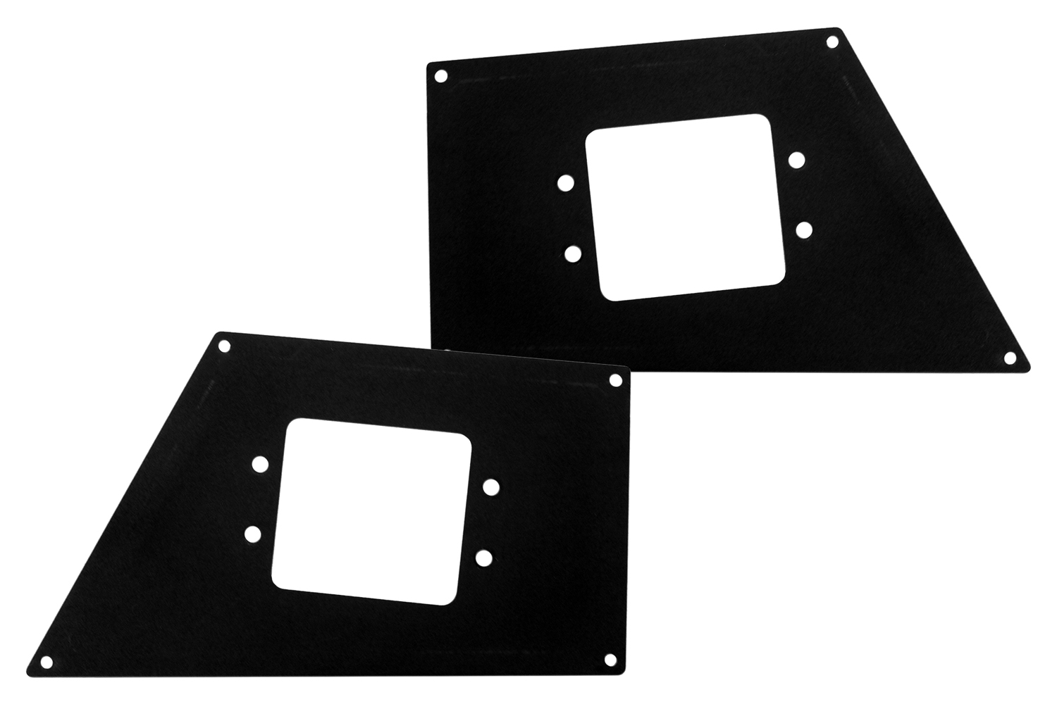 Go Rhino BR Front Light Plates (Flush Mount)