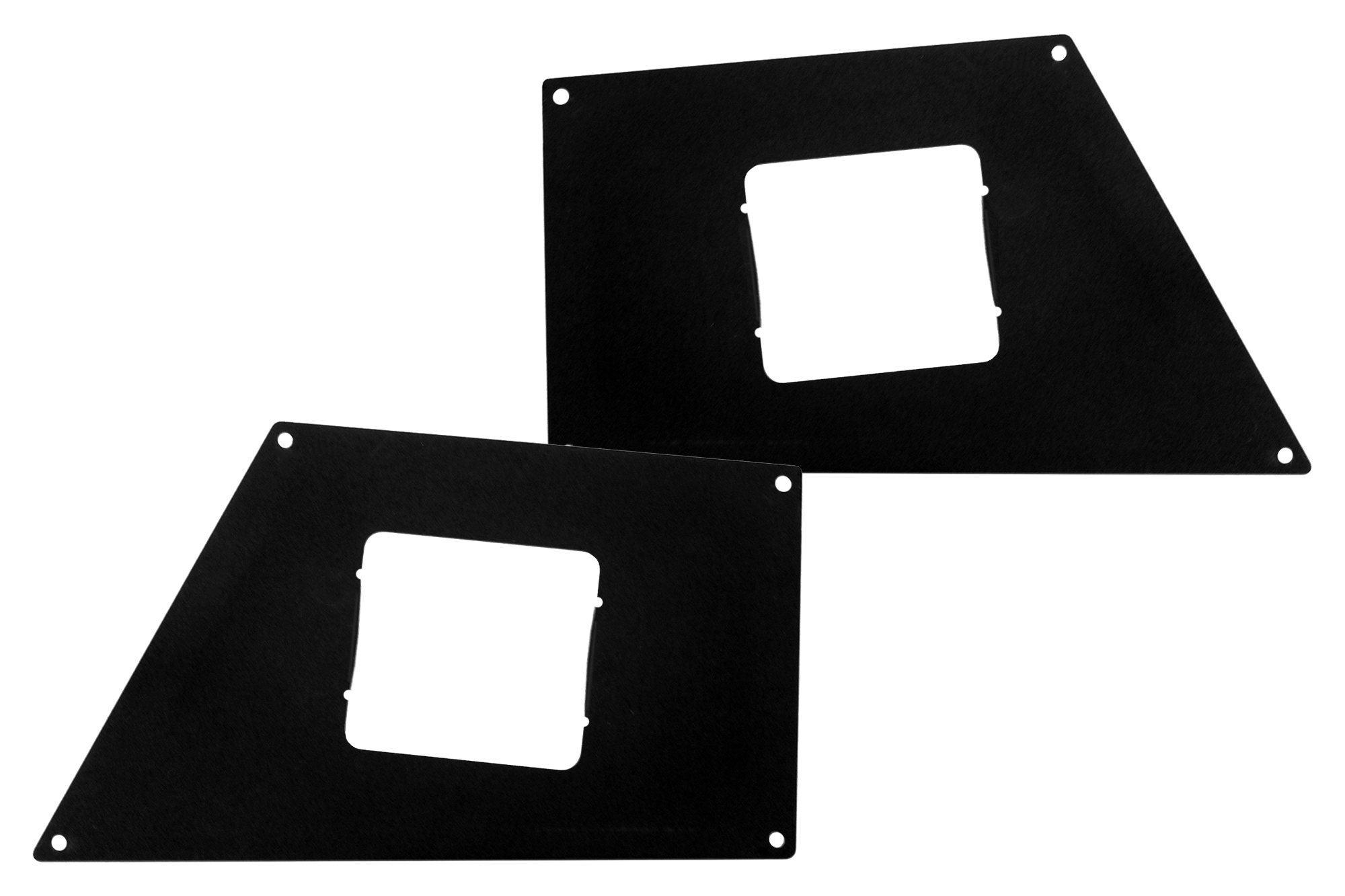 Go Rhino BR Front Light Plates (Surface Mount)
