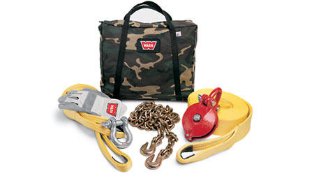 Warn Heavy-Duty Winching Acc Kit (Camo)