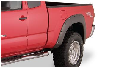 Bushwacker Fender Flares - OE Matte Black (Set of 4) 2005-2011