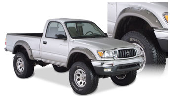 Bushwacker Cut Out Fender Flares 95 04 Tacoma 4x4 1995 2004 31919 02 519 99 Pure Tacoma Parts And Accessories For Your Toyota Tacoma