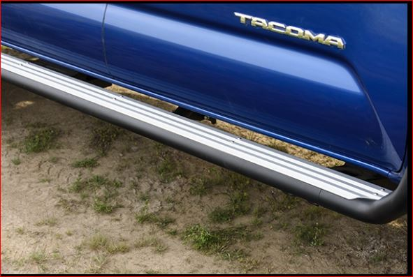 2016 On Toyota Tacoma Summit Side Steps