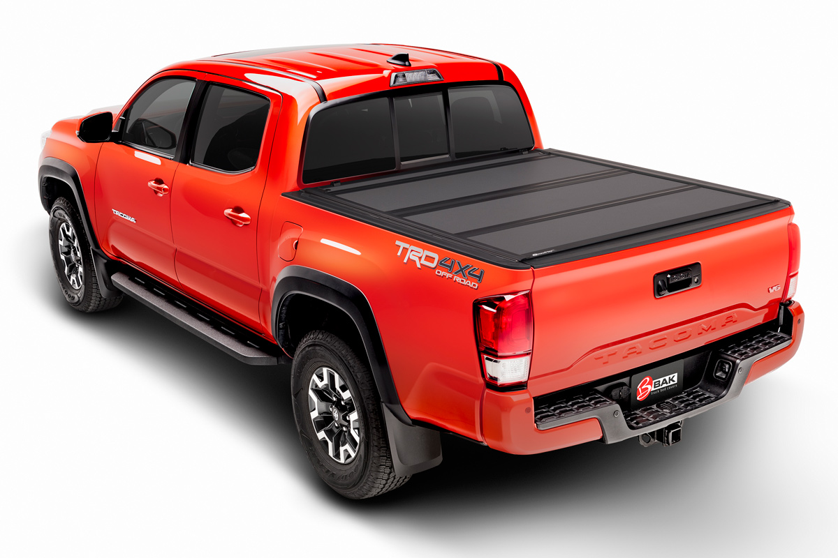 Toyota Tacoma Bed Cover >> Bakflip Mx4 2016 2019 Toyota Tacoma Hard Folding Tonneau Cover 5