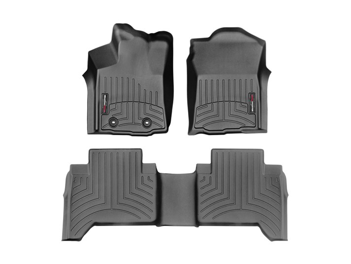 WeatherTech 2016 Tacoma Double Cab Floor Liner (Automatic)