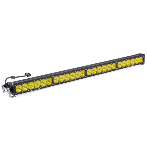 40 Inch LED Light Bar Amber Wide Driving Pattern OnX6 Series Baja Designs