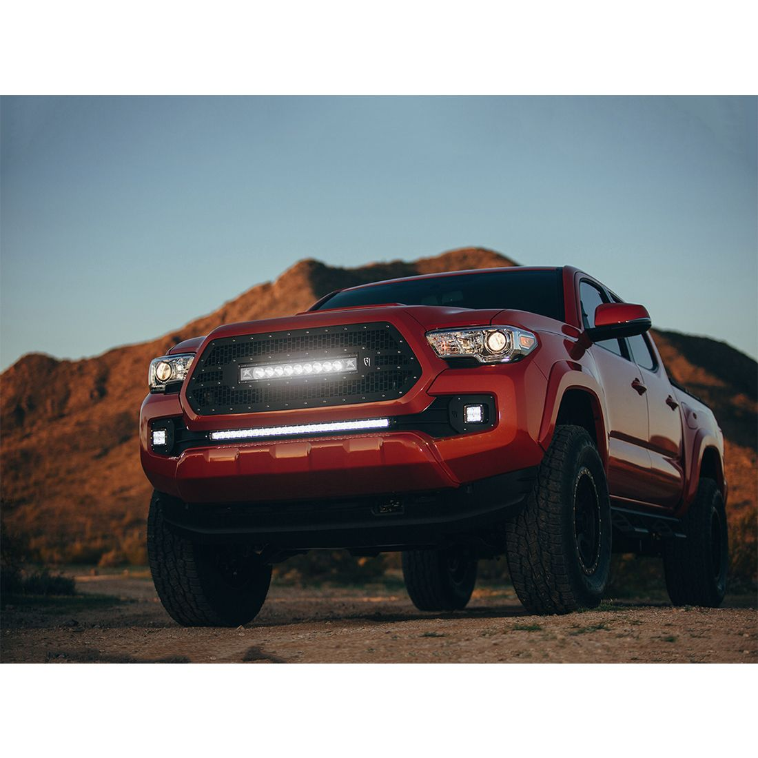 Rigid Industries Tacoma For Mount Kit SAE Compliant D-Series Pair 2016-2017