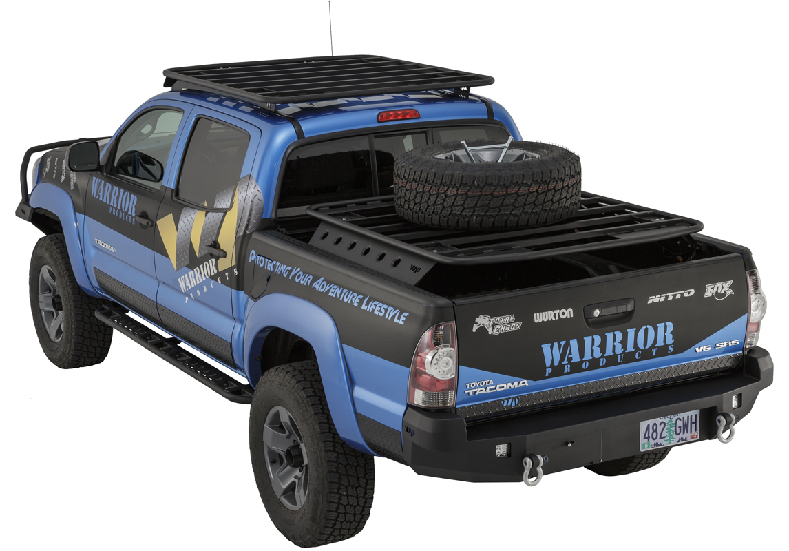 Warrior Products Bolt-On Side Steps 05-16 - 4 door only
