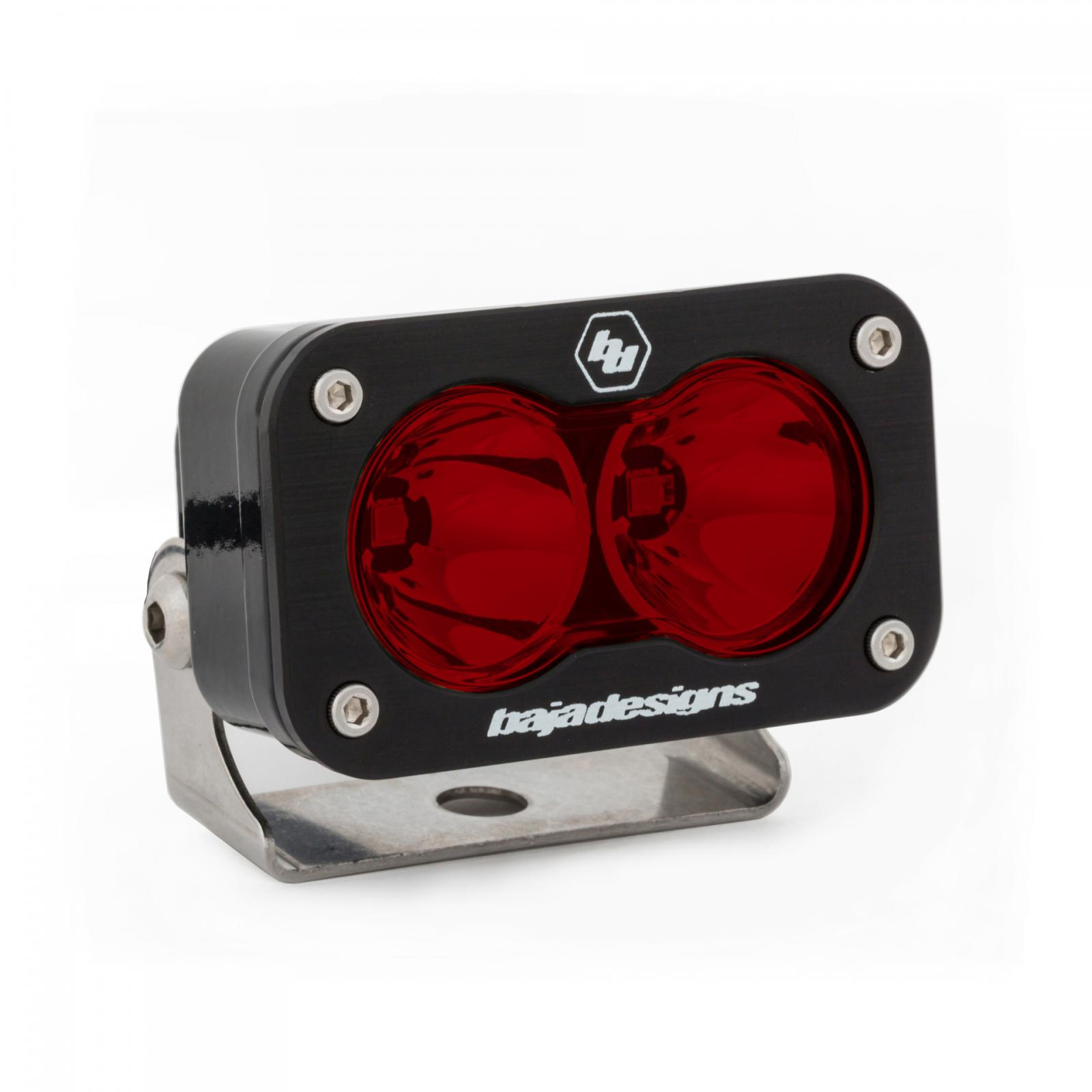 LED Work Light Red Lens Spot Pattern S2 Pro Baja Designs