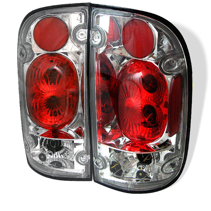 Spyder for Toyota Tacoma 01-04 Euro Style Tail Lights - Chrome
