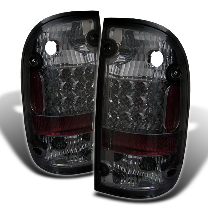 Spyder for Toyota Tacoma 01-04 LED Tail Lights - Smoke