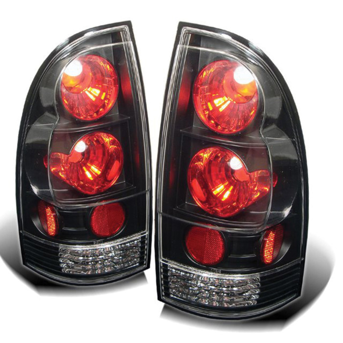 Spyder for Toyota Tacoma 05-12 Euro Style Tail Lights - Black