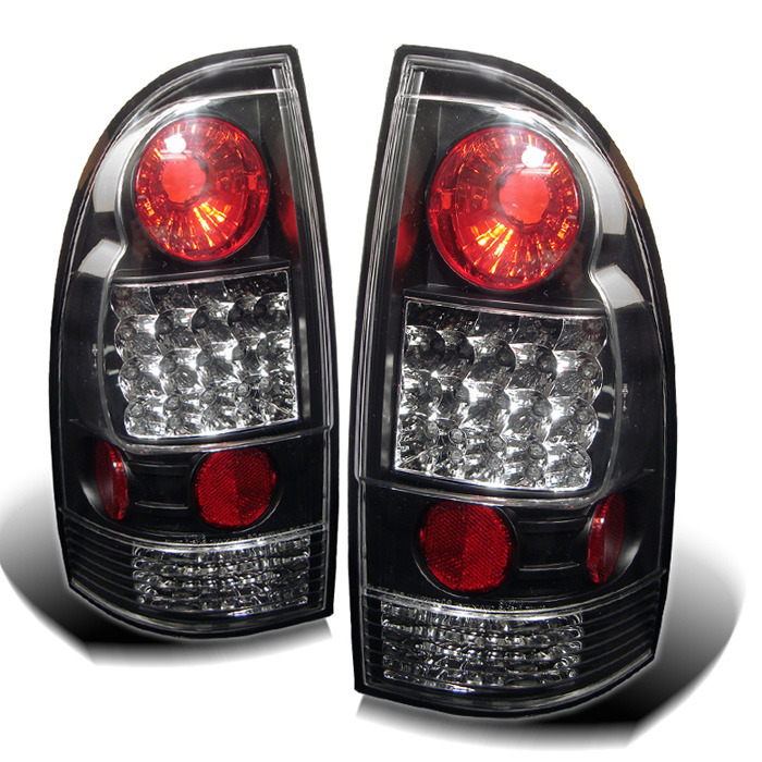 Toyota Tacoma 05-12 LED Tail Lights - Black