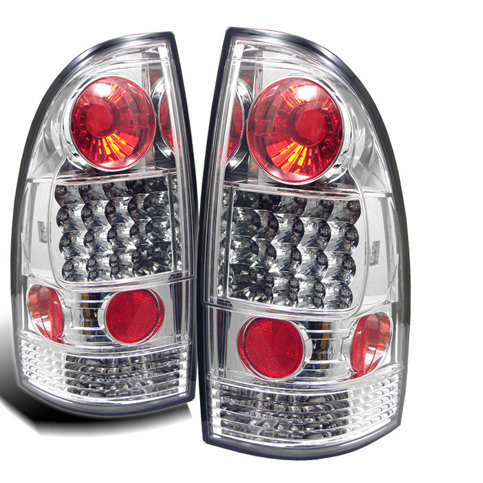 Spyder for Toyota Tacoma 05-12 LED Tail Lights - Chrome