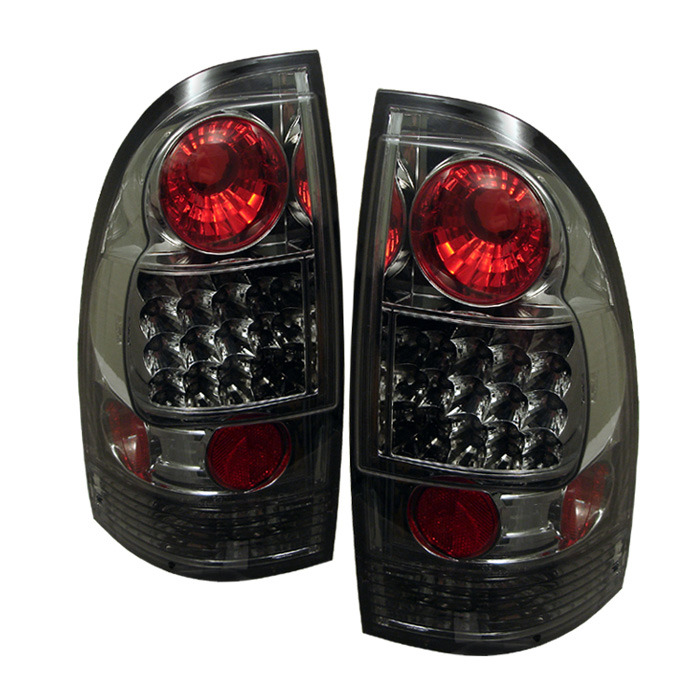Toyota Tacoma 05-12 LED Tail Lights - Smoke