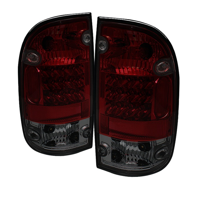 Spyder for Toyota Tacoma 01-04 LED Tail Lights - Red Smoke - Discontinued