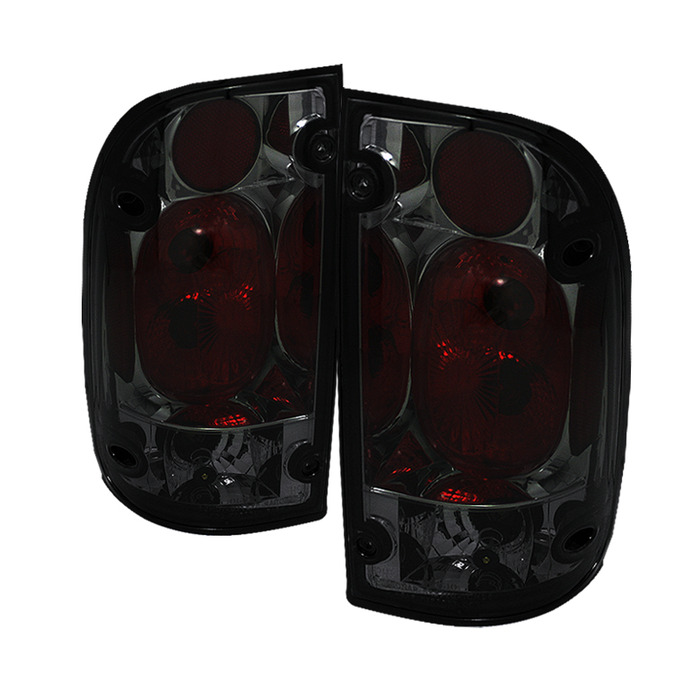 Spyder for Toyota Tacoma 01-04 Euro Style Tail Lights - Smoke