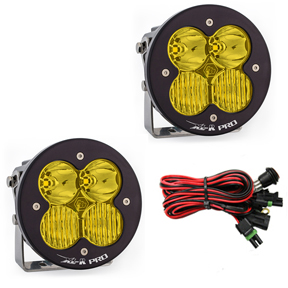 LED Light Pods Amber Lens Driving Combo Pattern Pair XL R Pro Series Baja Designs