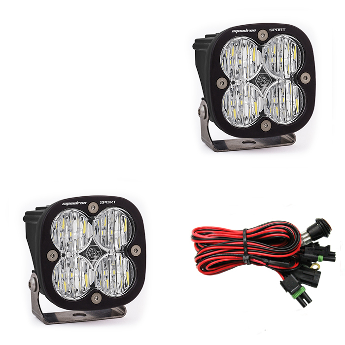 Squadron Sport, Pair Wide-Cornering LED