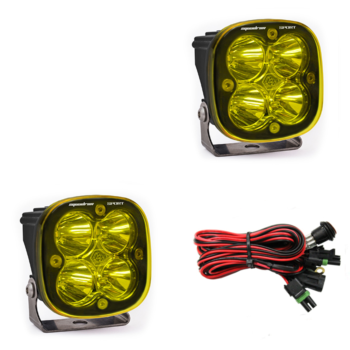 Squadron Sport, Pair Amber LED Work/Scene