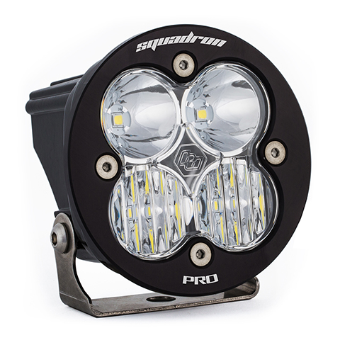 LED Light Pod Clear Lens Driving/Combo Pattern Each Squadron R Pro Baja Designs