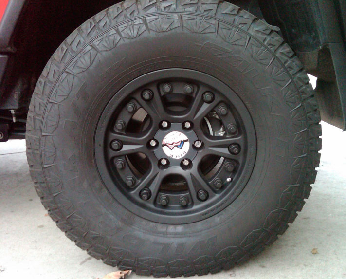 Street Legal BeadLocks for Toyota Tacoma