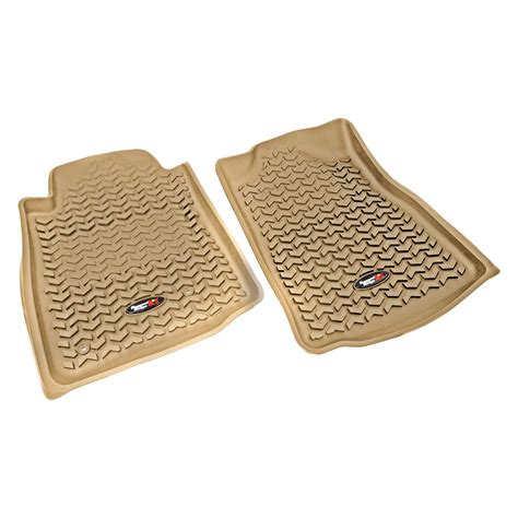 Rugged Ridge 12-18 Front Floor Liner Kit - Tan