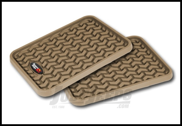 Rugged Ridge All Terrain Rear Universal Floor Liner - Tan