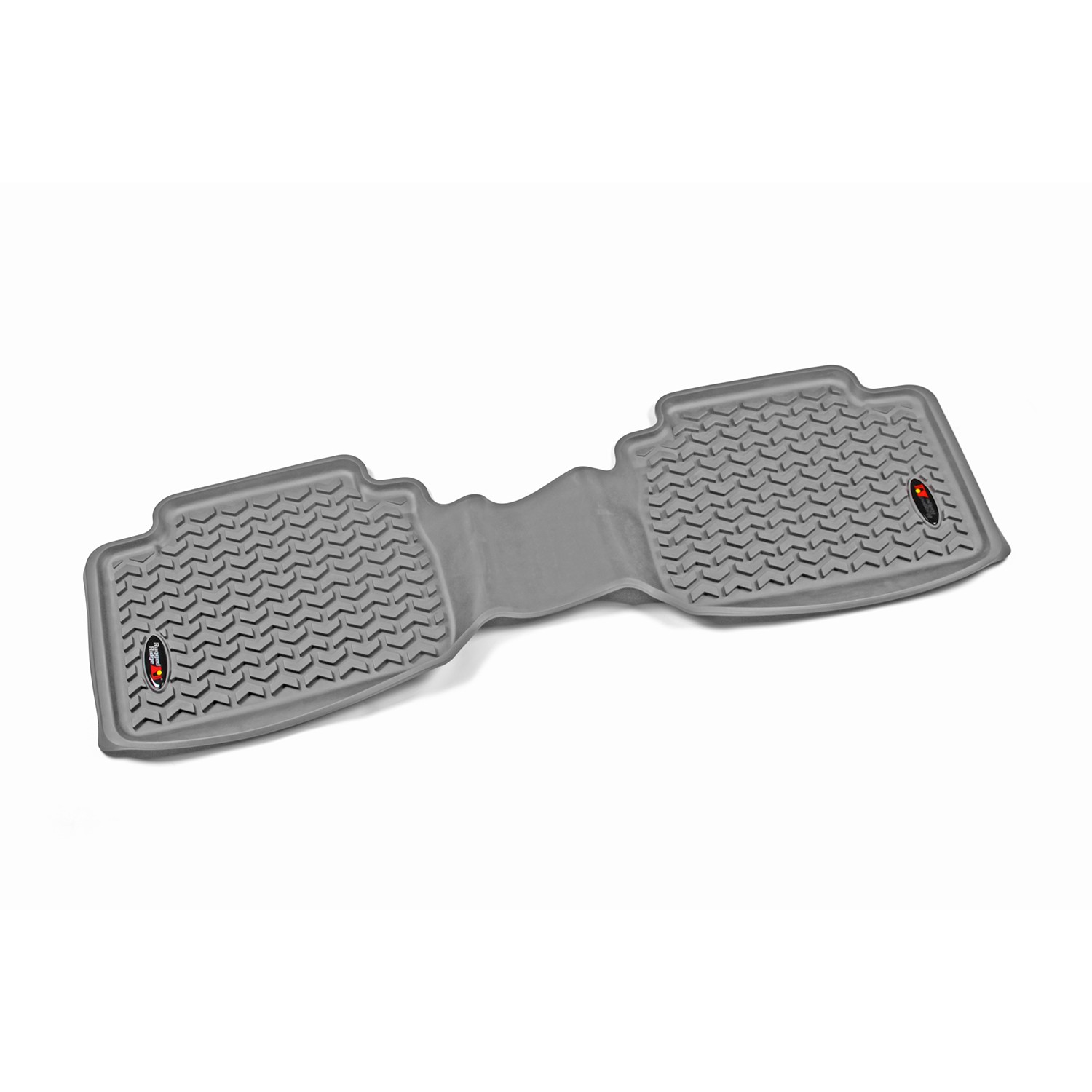 Rugged Ridge 05-18 Rear Floor Liner Kit - Grey