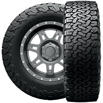 BF Goodrich LT275/70R17 Tire, All-Terrain T/A KM2 - 38371