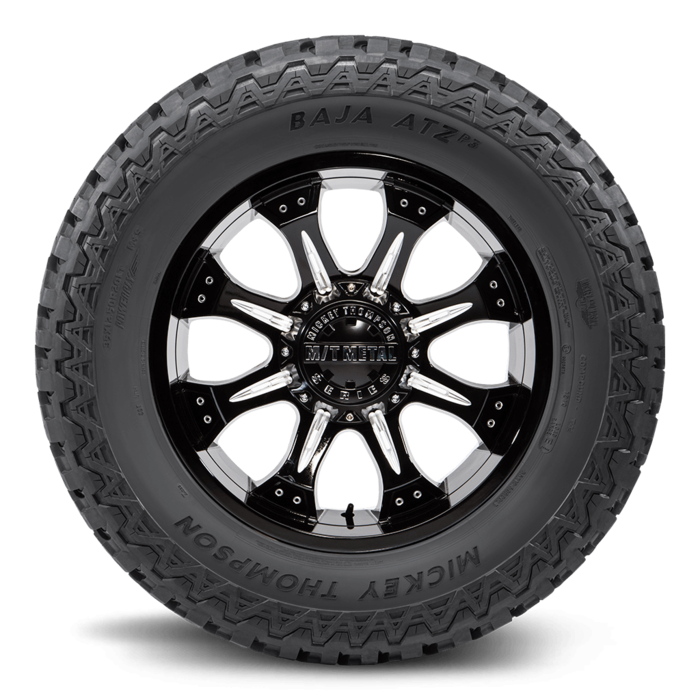 Baja ATZ P3 16.0 Inch LT305/70R16 Black Sidewall Light Truck Radial Tire Mickey Thompson