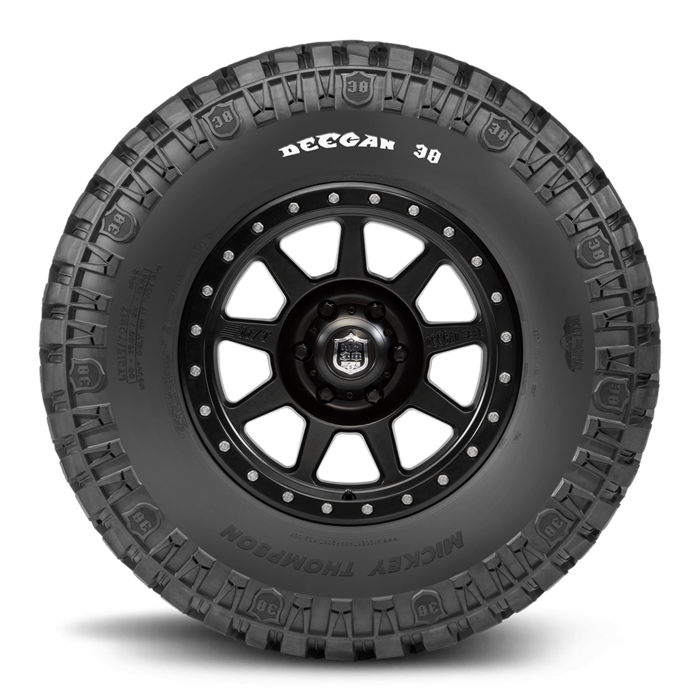 Deegan 38 17.0 Inch LT305/65R17 Raised White Letter Light Truck Radial Tire Mickey Thompson