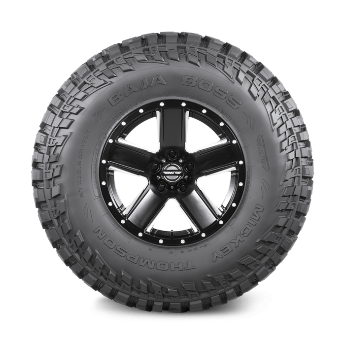 Baja Boss 16.0 Inch LT315/75R16 Black Sidewall Light Truck Radial Tire Mickey Thompson