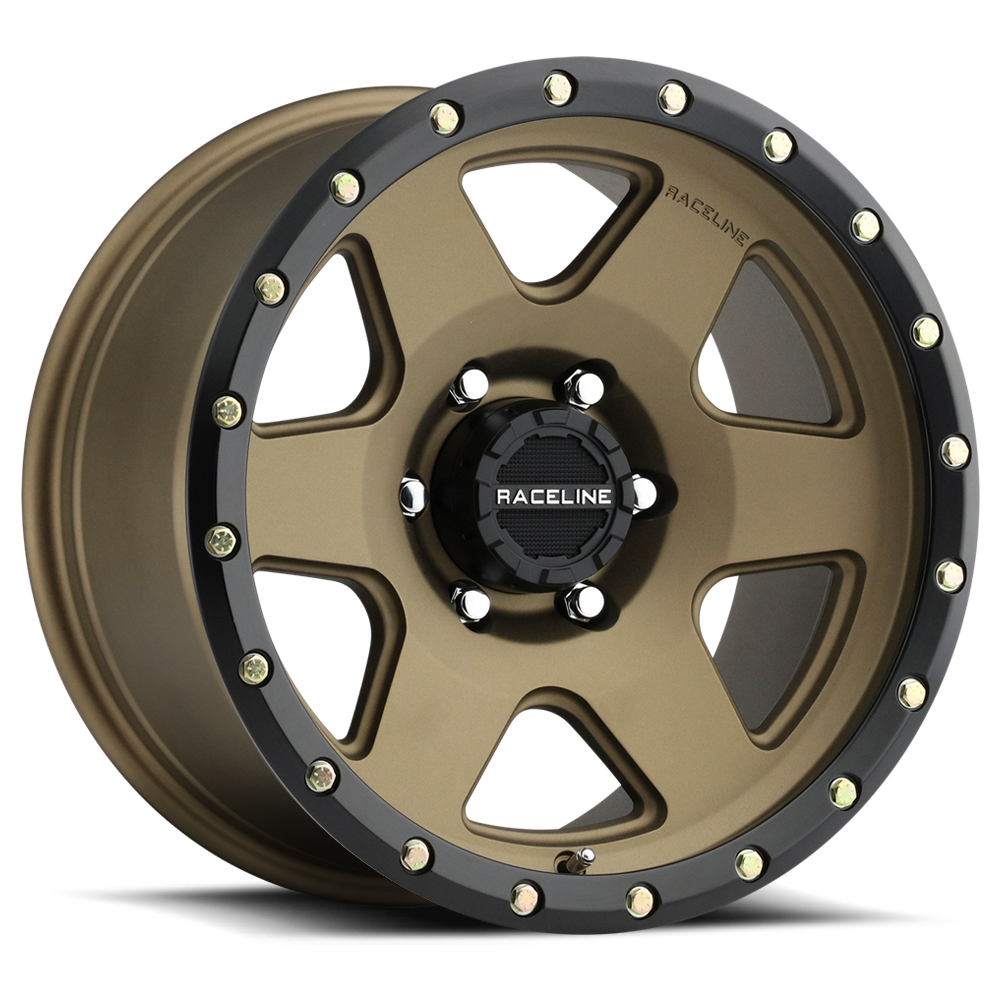 RaceLine Boost Bronze w/Black Lip Wheels 17 in x 9 in