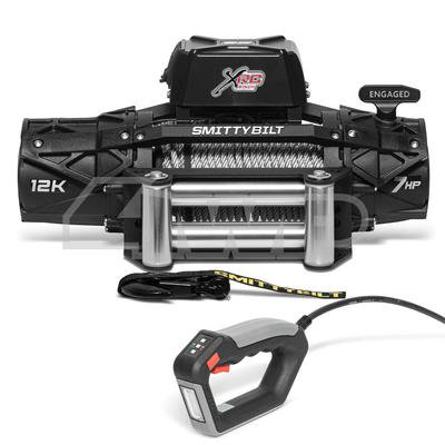 Smittybilt XRC Gen3 12K Winch with Steel Cable