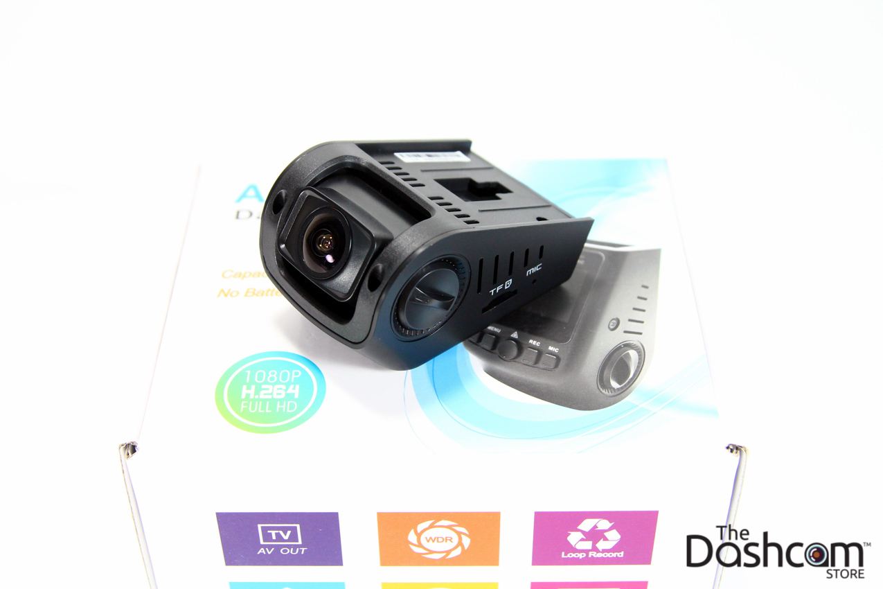 Discreet Full 1080p Single Lens Capacitor Dashcam