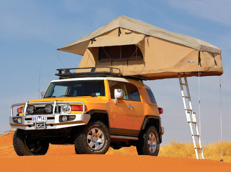 ARB Touring Range Simpson 3 Rooftop Tent & Annex Combo - Ships Free