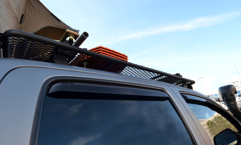 Toyota Tacoma Towing Capacity >> Baja Rack UTility (flat) Rack (mesh floor) (satellite antenna cutout) [BR-TYTCM-UT-FM-SFA-0 ...