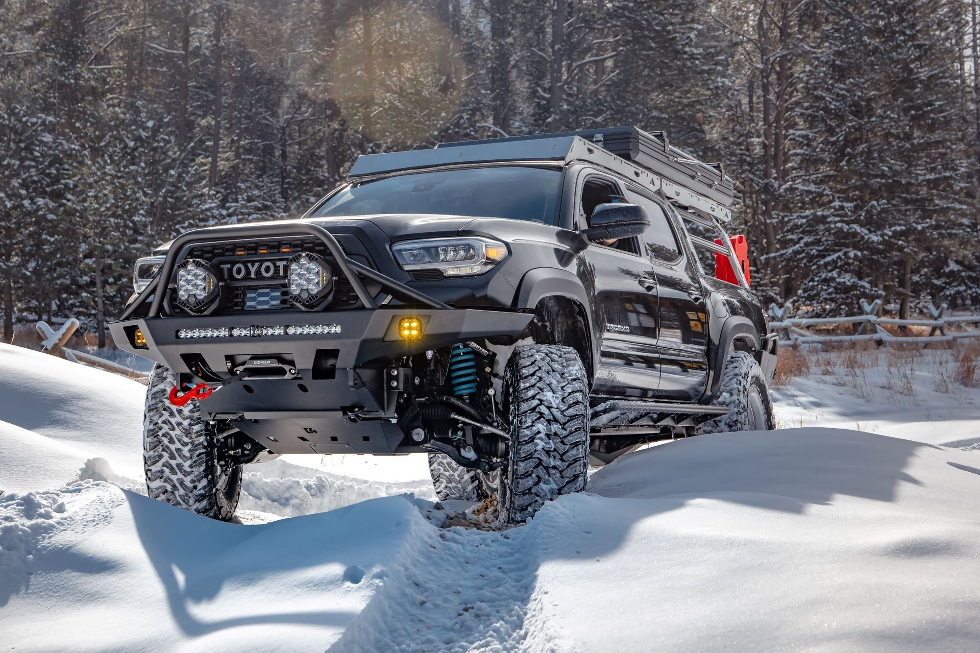 C4 OVERLAND SERIES FRONT BUMPER 2016+ TACOMA (3RD GEN)