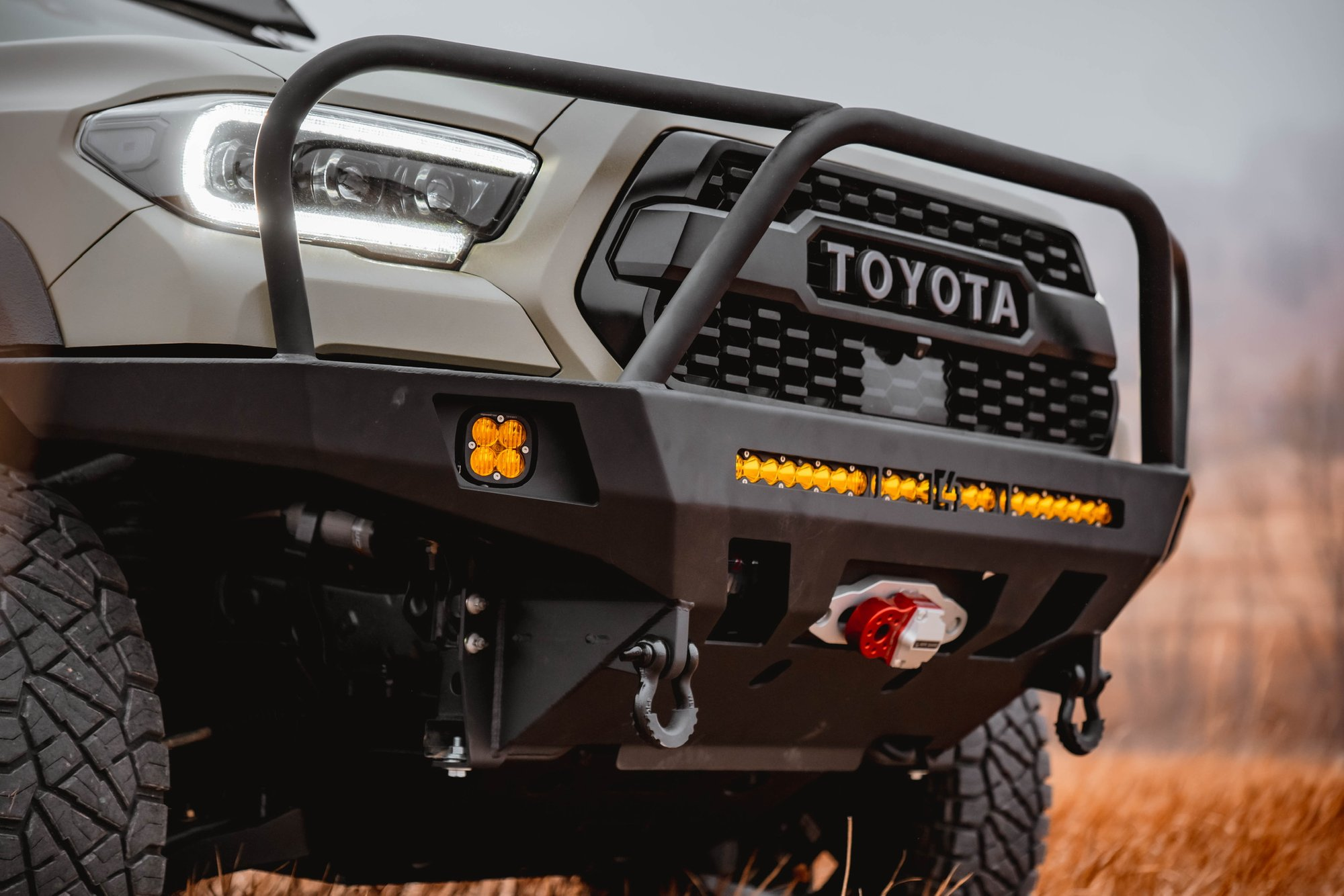C4 Overland Series Front Bumper 2016 Tacoma 3rd Gen C4