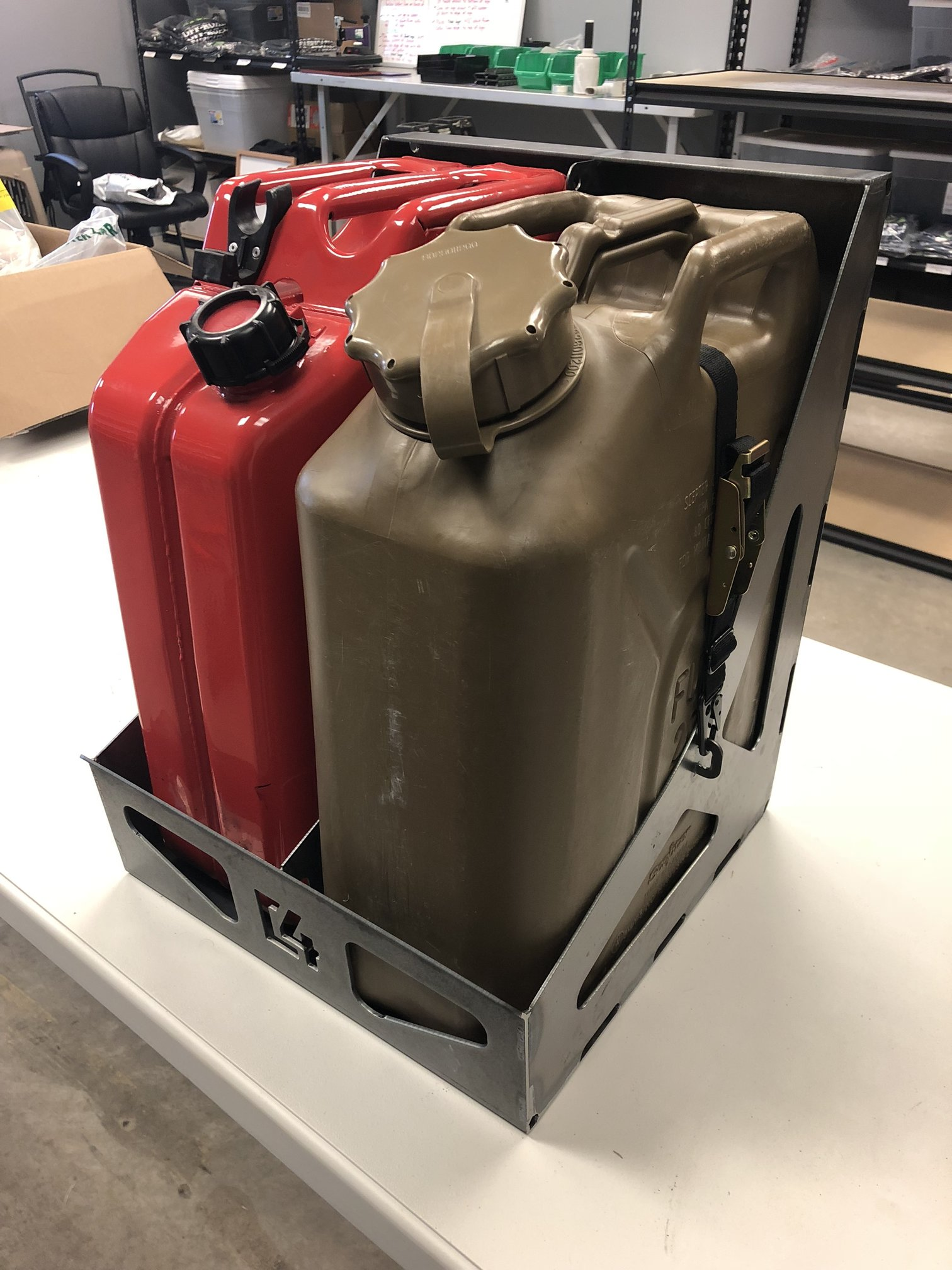 C4 Dual Jerry Can Holder