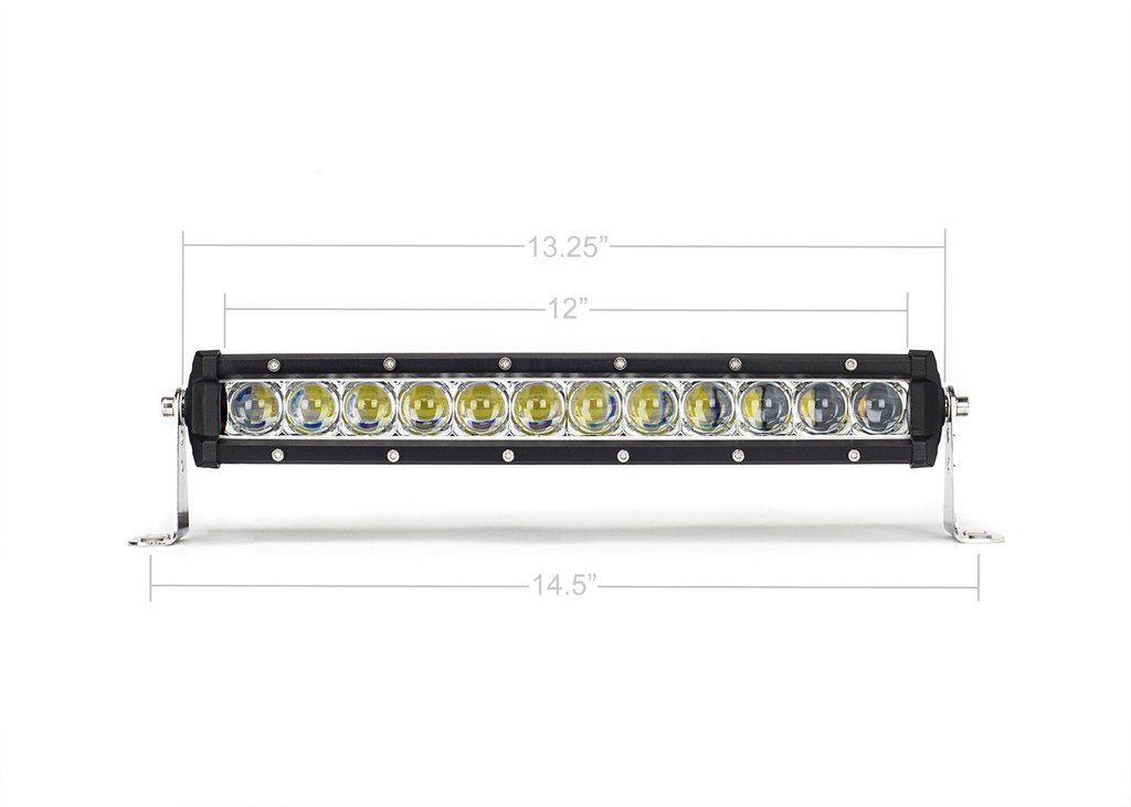 13 in. SLIM SINGLE ROW LED BAR